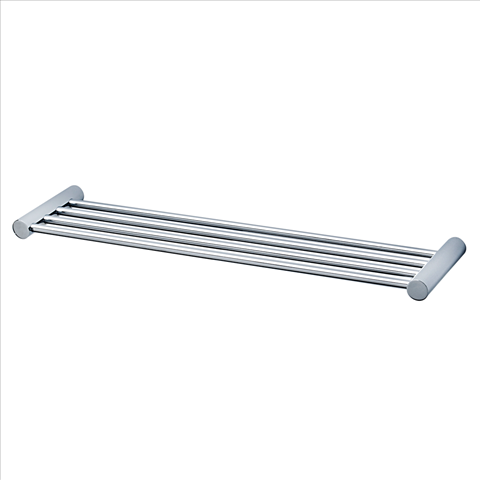 "AMERICAN STANDARD SERIN SATIN NICKEL 24"" TOWEL BAR SHELF"