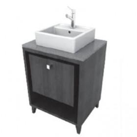 Porcher 86920-01.610 24-Inch Solutions Shadowbox Vanity, Wenge