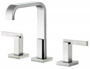 Danze D304544BN Sirius Trim Line Two Handle Widespread Lavatory Faucet, Brushed Nickel