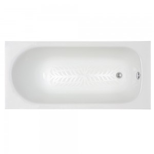 Porcher 60320-00.001 Ardennes Nouveau Drop-In Bath Tub Only, White