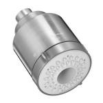 American Standard 1660.613.075 Flowise Modern 3 Function Water Saving Showerhead, Stainless Steel