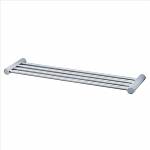"AMERICAN STANDARD 2064.034.295 SERIN SATIN NICKEL 24"" TOWEL BAR SHELF"