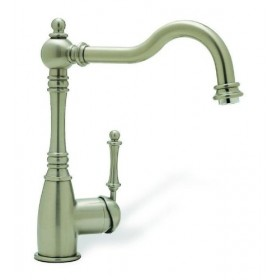 Blanco Grace 440683 Single Lever Cast Spout Kitchen Faucet, Satin Nickel