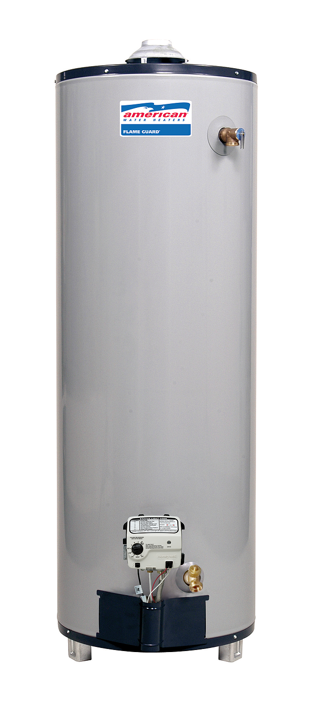 American Water Heater Bfg6150t504nov Premier Plus 50 Gallon Tall Natural Gas Faster Recovery Water Heater Per Ea