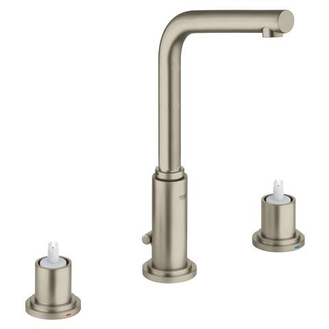 Grohe Atrio 8″ Widespread Two-Handle Bathroom Faucet M-Size in Brushed Nickel