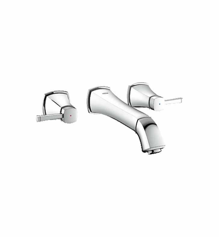 Grohe 20416000 Grandera Widespread Bathroom Faucet in Chrome