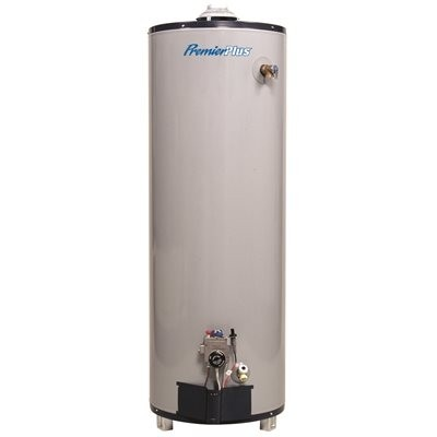 ProLine G102-50T40 50 Gal. Tall Natural Gas Water Heater w/Side Mount T&P Relief Valve (40,000 BTU)