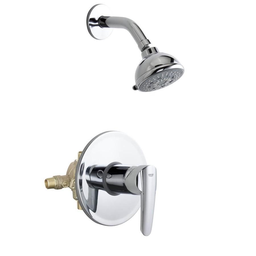 Grohe Start Pressure Balance Valve Bathtub/Shower Combo Faucet