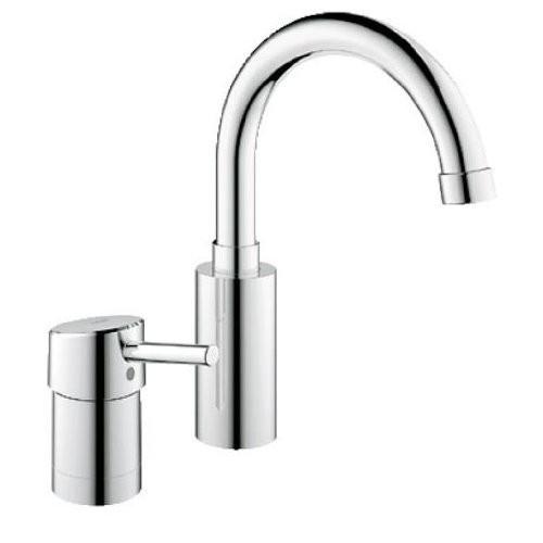 Grohe 34273001 Concetto Two-Hole Single-Handle Bathroom Faucet, polished chrome