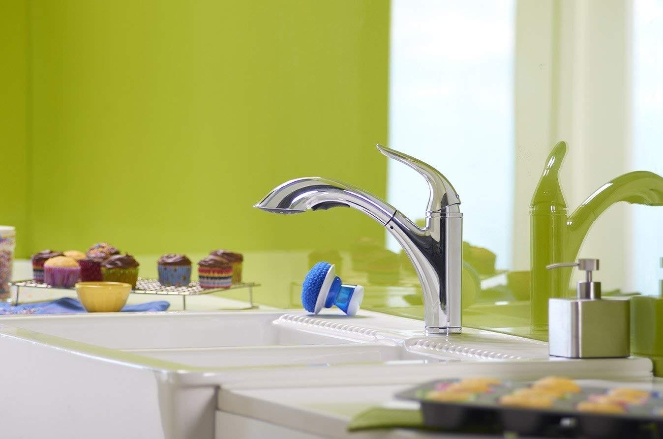 Danze D455021 Antioch Single Handle Pull Out Kitchen Faucet, Chrome