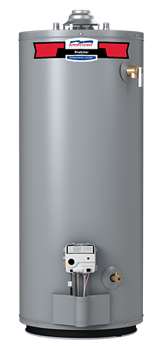 American ProLine G102-40S40R 40 Gallon Atmospheric Vent Natural Gas Water Heater - 10 Year Warranty