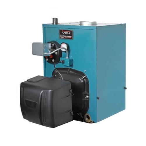 Burnham PV8H3WT-TBWF 109,000 BTU V8H Water Boiler w/ Tankless Coil w/ Beckett Burner (Oil)