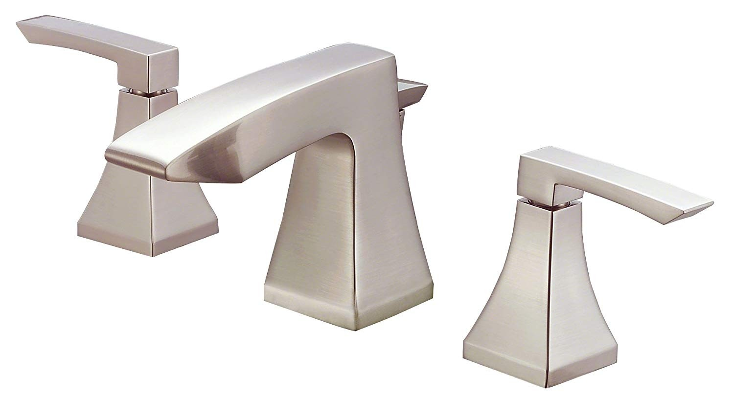 Danze D304036BN Logan Square Two Handle Widespread Lavatory Faucet, Brushed Nickel