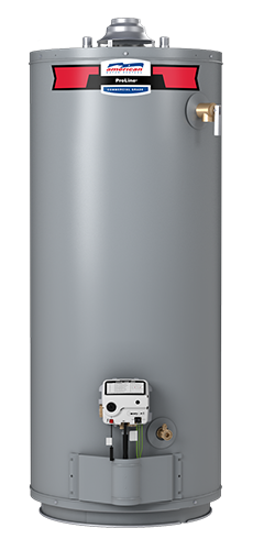 G102-50S40 - 50 Gallon Atmospheric Vent Natural Gas Water Heater - 10 Year Warranty