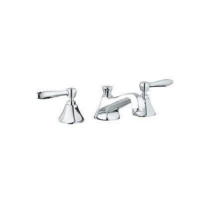 Grohe 20133000 Somerset 3-H Lavatory Wideset in Chrome