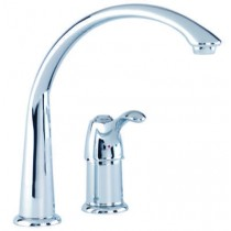 Gerber Allerton 1H Hi-Arc Kitchen Faucet w/out Spray 2.2gpm Stainless Steel