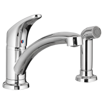 American Standard 7074020002 colony pro-kitchen faucet, chrome