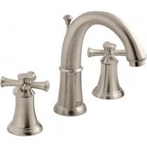 American Standard 7420.821.295 2 Cross Handle Bathroom Faucet, Satin Nickel
