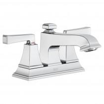 American Standard 7455217.002 2Handle Bathroom Faucet, Polished Chrome