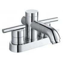Amerisink AS 808CH 2 Handle Bathroom Faucet, 4 inch, Centerset