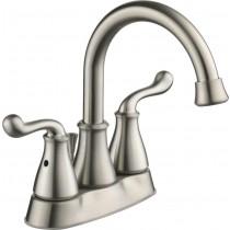 Better Homes & Gardens BHS048529511011 Double Handle Centerset Bathroom Faucet, Satin Nickel
