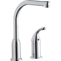Elkay Everyday LKF4121RS Kitchen Faucet with Restricted Spout and Remote Lever Handle