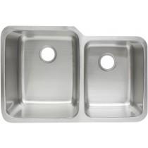 Franke FCU104 10 Inch Deep Stainless Steel Offset Undermount Kitchen Sink