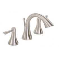 Gerber G0043016BN Riverdale® Two Handle Bathroom Faucet, Widespread, Brushed Nickel