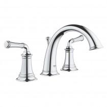 Grohe 20475000 2 Handle Bathroom Faucet, Chrome