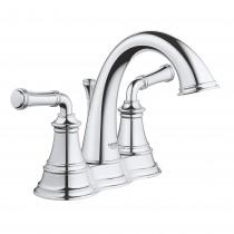 Grohe 20482000 2 Handle Bathroom Faucet, Chrome