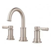"Pfister LF049BC Breckenridge 2-Handle 8"" Widespread Bathroom Faucet, Push & Seal"