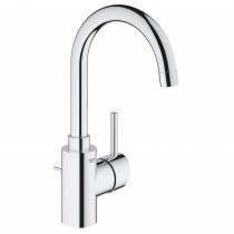 Grohe 32138002 3-hole single lever chrome lavatory faucet