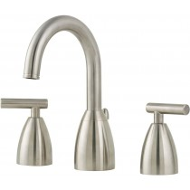 Pfister LF049NK00 Double Handle Bathroom Faucet, Brushed Nickel