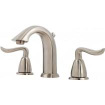 Pfister LF049ST0K 2handle Widespread Bathroom Faucet, Brushed Nickel
