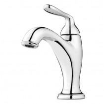 Pfister LG42-MG0C Single Handle Bathroom Faucet, Polished Chrome