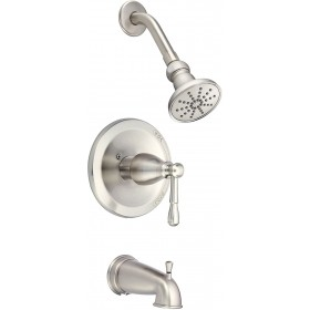 Danze D500015 Eastham Pressure Balance Tub and Shower Trim Package, 2.5 GPM (Valve)