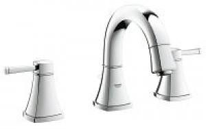 Grohe 20418EN0 Grandera 8″ Widespread Two-Handle Bathroom Faucet S-Size