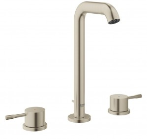 Grohe Essence Lavatory Widespread Faucet  in Brushed Nickel