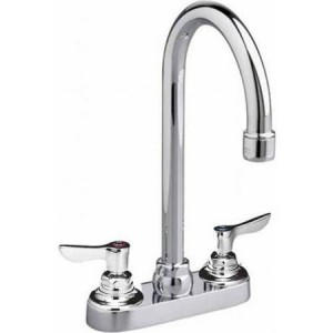 American Standard 7501.140.002 - Gooseneck Centerset Lavatory Faucet With Pop-Up Drain And Lever Handles