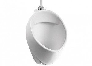 Leno UR.51105 Wall Mounted  Commercial Washout High-Efficiency Urinal, White