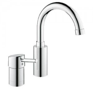 Grohe 34273001 Concetto Two-Hole Single-Handle Bathroom Faucet, polished chrome