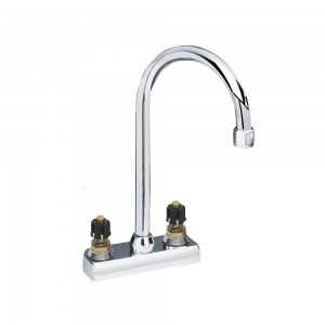 American Standard 7490.000.002 Heritage 4-Inch Centerset Bar Faucet Metal Handles, Polished Chrome