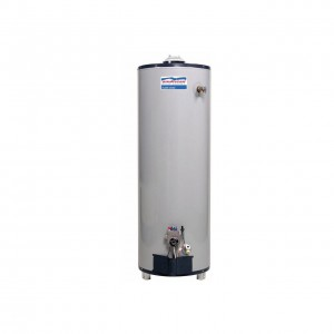 American Water Heaters BFG61-50T40-3NOV Natural Gas Residential Water Heater, 50 Gallon
