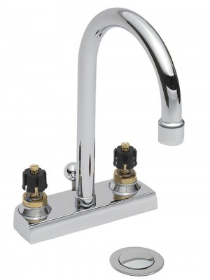 American Standard 7401000.002 Heritage® 1.5 gpm Lavatory Faucet with Pop-Up chrome