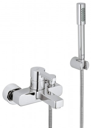 GROHE 33850000 Lineare OHM exp. bath mixer w shower set in chrome