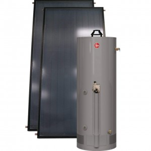 Rheem RSG75-40BP SolPak Gas Assist Solar 75-Gallon Natural Gas