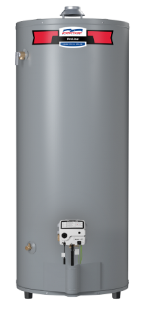 American Water Heater G62-75T75-4NOV - 74 Gallon High Recovery Natural Gas Water Heater - 6 Year Warranty