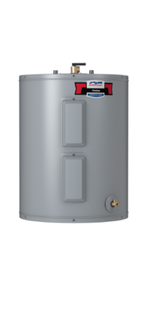 America Water heater E6N-40L - 40 Gallon Lowboy Top Connect Standard Electric Water Heater