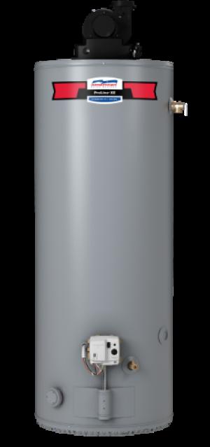 PVG62-75T76-NV - ProLine® XE 75 Gallon 76,000 BTU Power Vent Natural Gas Water Heater - 6 Year Warranty