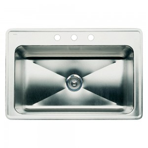 Blanco Magnum  33 Inch Drop-In Single Bowl Stainless Steel Sink